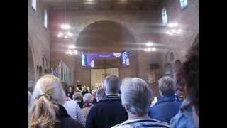 Harmony zingt Samenlooplied in kerk Ammerzoden