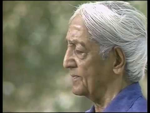 On living peacefully with intelligence | J. Krishnamurti