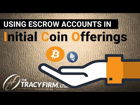 Using Escrow Accounts in Initial Coin Offerings