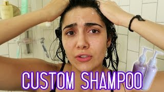 I Tried Custom Shampoo & Conditioner