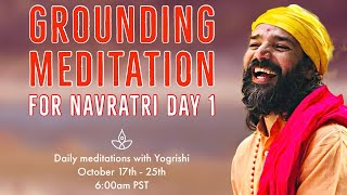 Grounding Meditation for Navra…