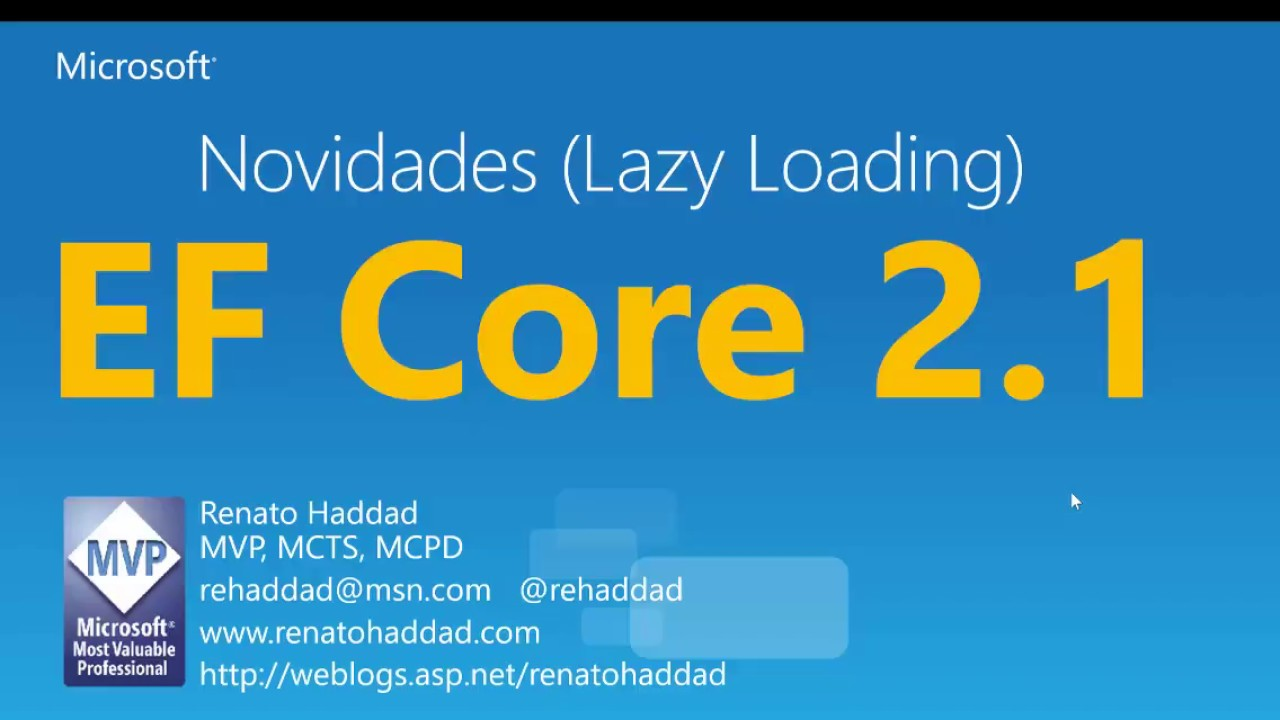 EF Core 2 1 - Uso e configuração do Lazy Loading com Proxies e Virtual