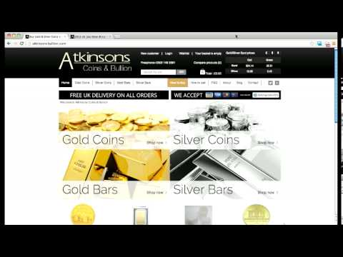 Atkinsons Coins & Bullion (formerly Atkinsons the Jewellers) - Intro to New Website