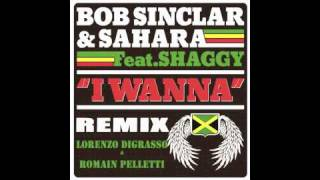 I WANNA BOB SINCLAR & SAHARA Feat SHAGGY REMIX Lorenzo DiGrasso & Romain Pelletti