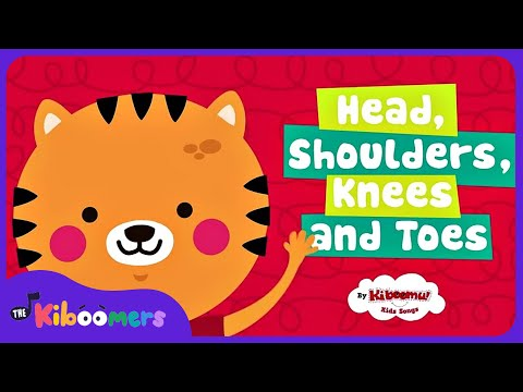 Head Shoulders Knees And Toes | Nursery Rhymes For Toddlers With Lyrics & Actions