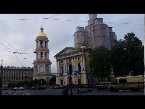 in giro per s. Pietroburgo