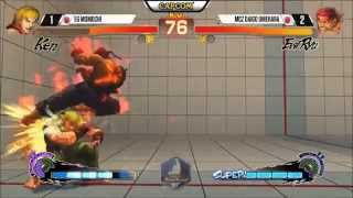 Daigo Umahara, Evil Ryu 25 hits combo with a stun against Momochi