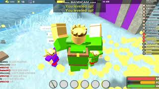 GETTING FREE GOD BAGS FOR FREE IN ROBLOX BOOGA BOOGA!-SHOUTOUT TO xGamer0517x