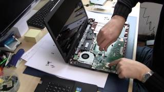 ASUS F751LN X751 F751 F750 RAM Memory SSD HDD Upgrade Keyboard Battery Umbau Aufrüstung Tutorial