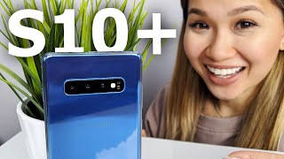 The Samsung Galaxy s10 Plus Is HERE!
