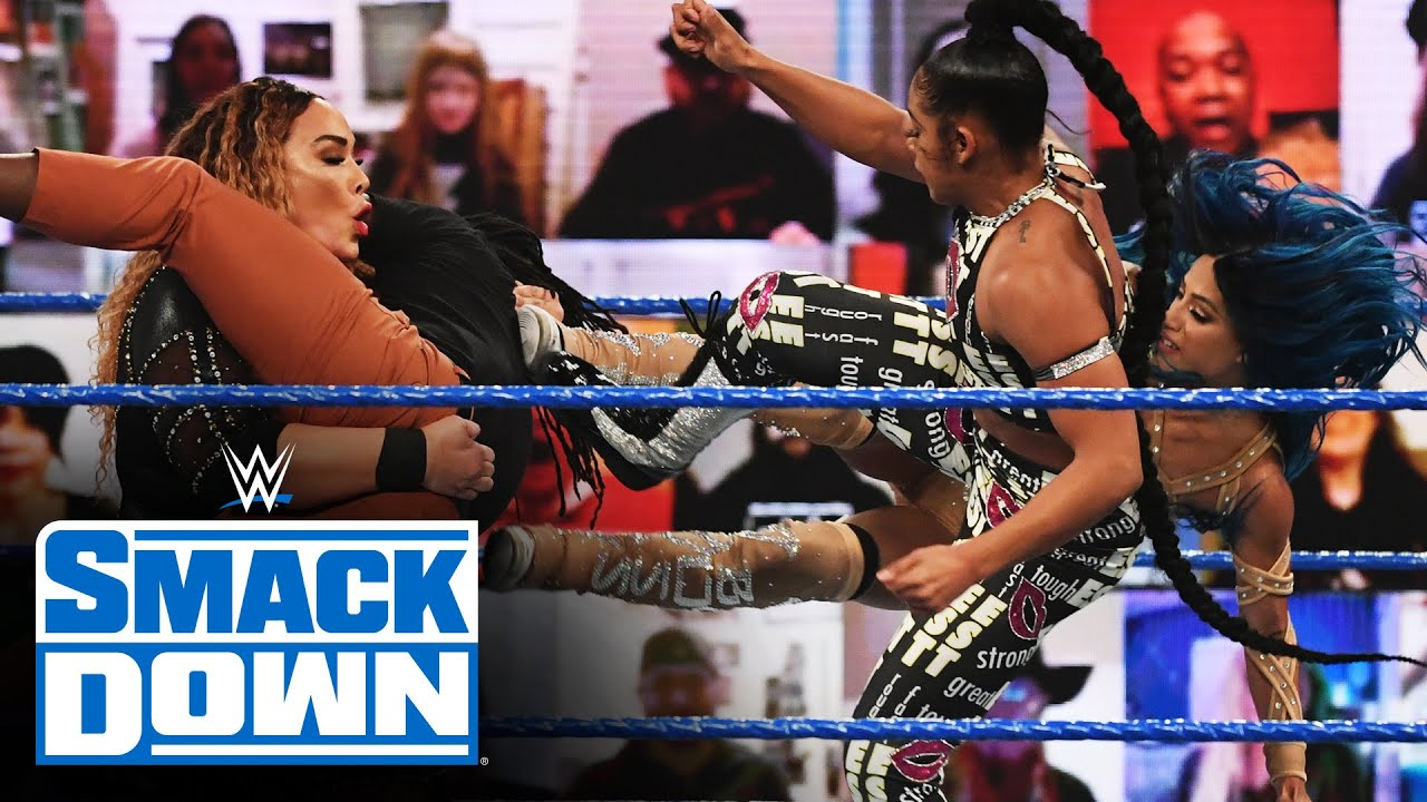 Belair, Banks & Reginald vs. Baszler, Jax & Bayley: SmackDown, Feb. 19, 2021