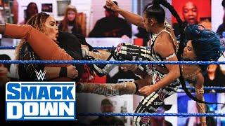 Belair, Banks & Reginald vs. Baszler, Jax & Bayley: SmackDown, Feb. 19, 2021
