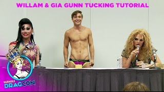 Tucking Tutorial with Willam Belli & Gia Gunn at RuPaul