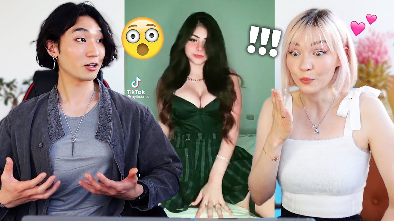 Couple Reacts To Tiktok Outfit Change Challenge Together *this got spicy*