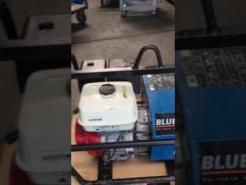 Miller Blue Fire 180 Gas Powered DC Arc Welder AC Generator Honda 13hp