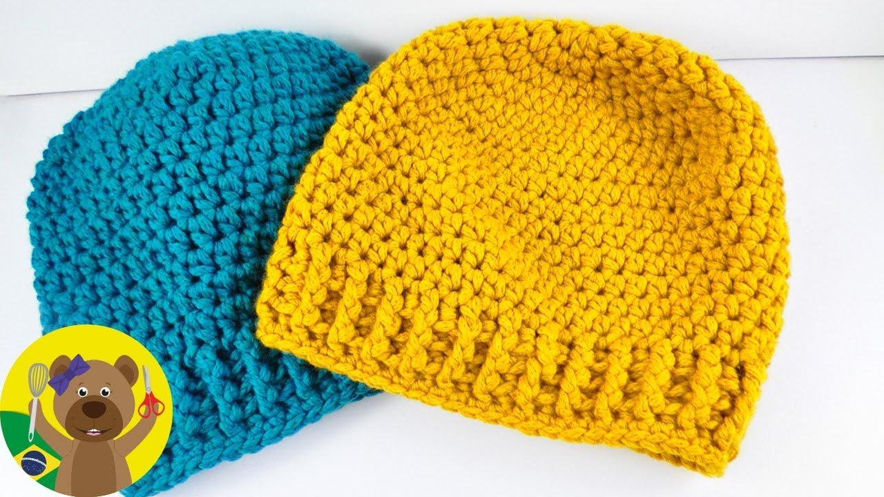 2507769acd7eb Aprenda a fazer um gorro de inverno com crochet
