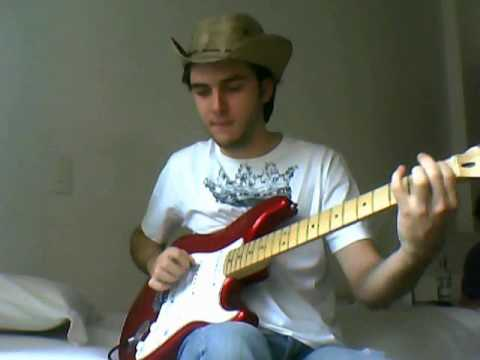 Diogo - Mercury Blues Guitar Cover (Alan Jackson)