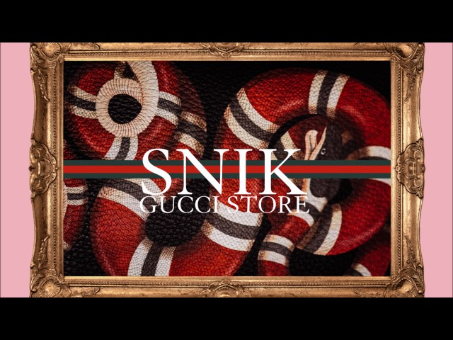 SNIK - GUCCI STORE - Official Audio Release