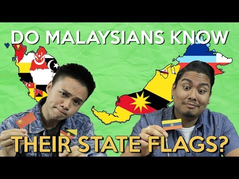 Do Malaysians Know Their State Flags?