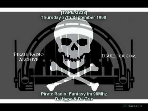 [G238-S1-EDIT] DJ Hype ~ 27/09/1990 ~ Pirate Radio Fantasy fm