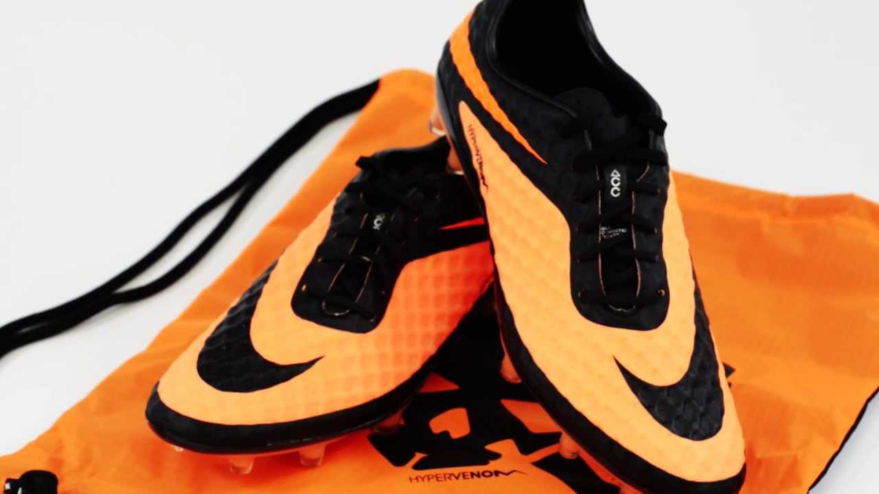 online store 53e82 beda1 Nike Hypervenom Phantom FG Soccer Cleats - Black with Bright Citrus Review  - YouTube