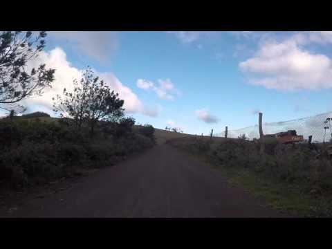 Ile de Pâques Route côté Sud de l'île, Gopro / Easter island South coast, Gopro
