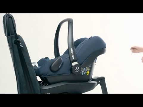 maxi cosi rock how to install the car seat youtube. Black Bedroom Furniture Sets. Home Design Ideas
