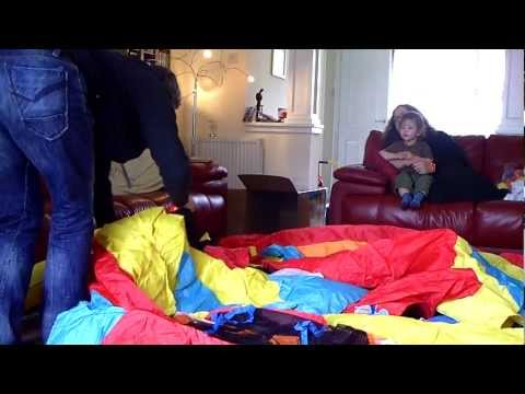 Thumbnail: Danny's new bouncy castle indoors