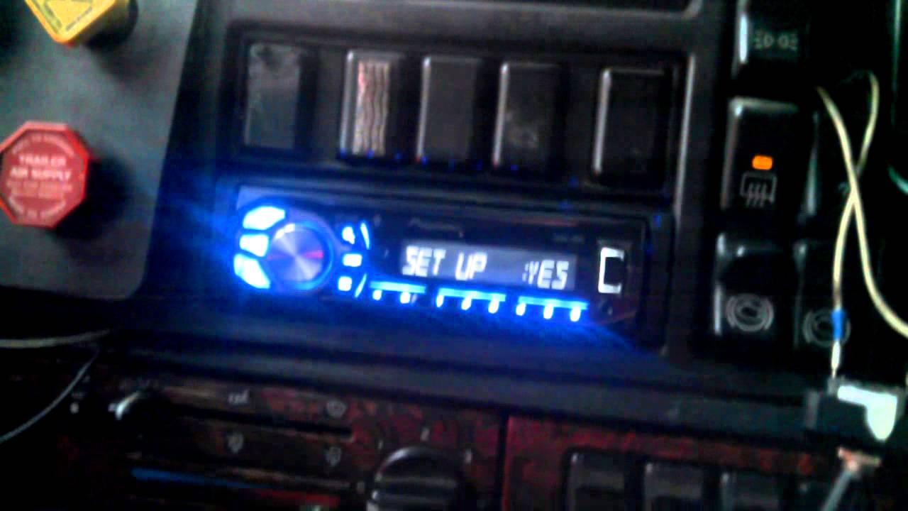 medium resolution of  maxresdefault 1998 volvo 18 wheeler truck radio install final youtube volvo vnl radio wiring diagram at