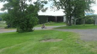 1989 cr250 playin in the yard