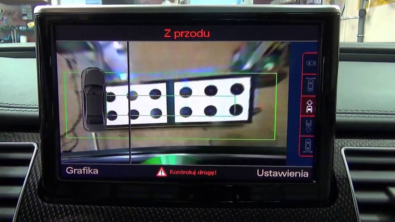 Audi A8 A7 A6 Top View Camera Calibration Youtube