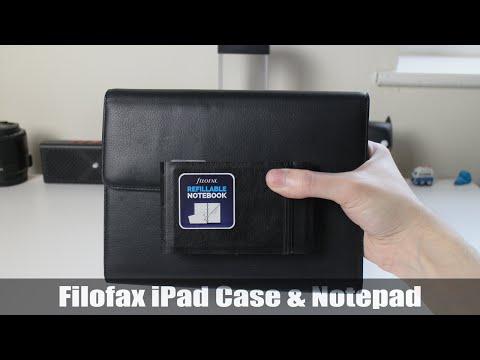 Filofax Nappa Leather IPad Mini 2/3 Case And Leather Notebook
