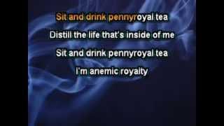 Nirvana - Pennyroyal Tea [Karaoke]