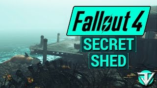 FALLOUT 4: Cranberry Island SECRET QUEST with Shed FULL of Crafting Materials in Far Harbor DLC!