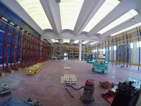 Expanding warehouse   TEKIMA