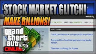 Easiest Gta5 money glitch $1 million stock market money glitch (Not lester mission) offline