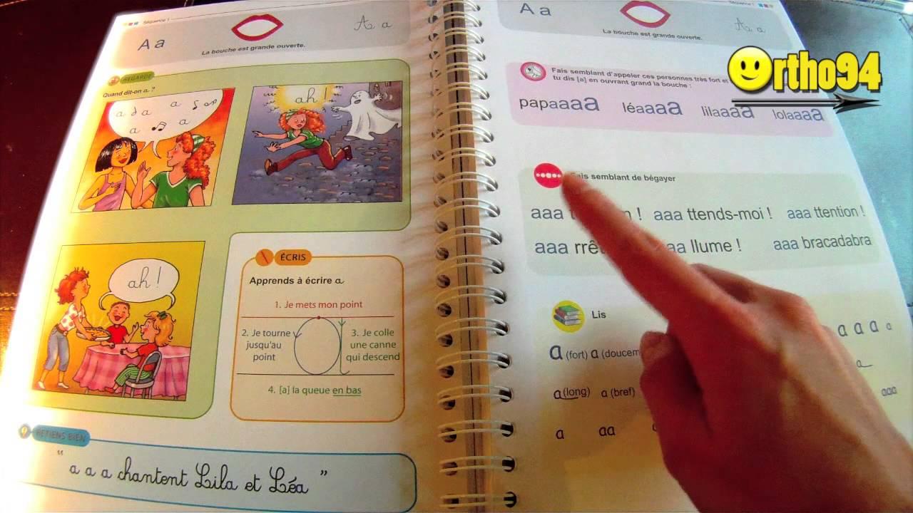Favorit Apprendre à lire: méthode syllabique avec CRÉAMOTS! - YouTube CT03