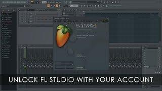 FL STUDIO | كيفية فتح FL Studio مع صورة الخط حساب تسجيل الدخول