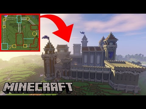 How To Build An Epic Castle In Minecraft | Build Tutorial Timelapse