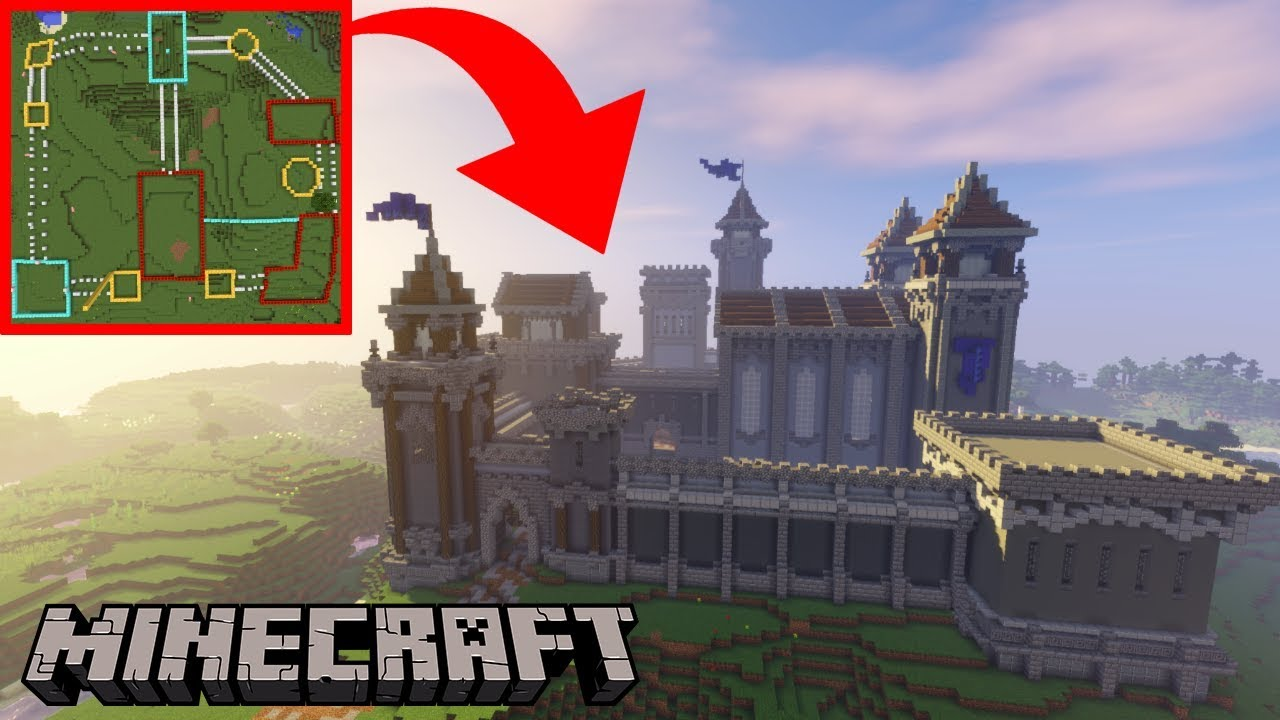 How To Build An Epic Castle In Minecraft Build Tutorial