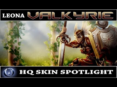 League of Legends: Valkyrie Leona (HQ Skin Spotlight)