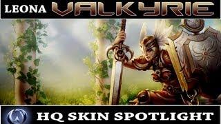League of Legends: Valkyrie Leona (HQ Skin Spotlight)