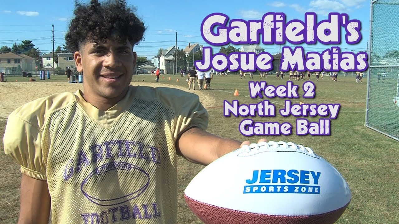 Garfield's Josue Matias Wins JSZ Week 2 North Jersey Game Ball!