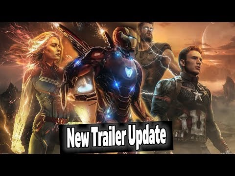 *NEW* Avengers Endgame Trailer Update, CRAZY Lego Leaks, & Captain Marvel Rotten Tomatoes