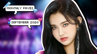 monthly faves | kpop songs of september 2020