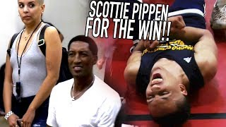 Scottie Pippen Jr CLUTCH in CRAZY OVERTIME FINISH in Front Of His Dad! Sierra Canyon VS Mobley Bros!