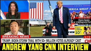 Andrew Yang on CNN with Ana Cabrera | Full Interview 10/24/20