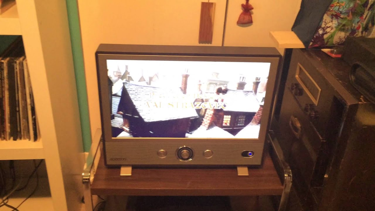24 Im Tv Crosley 24 Inch Retro Led Tv 1080p Youtube