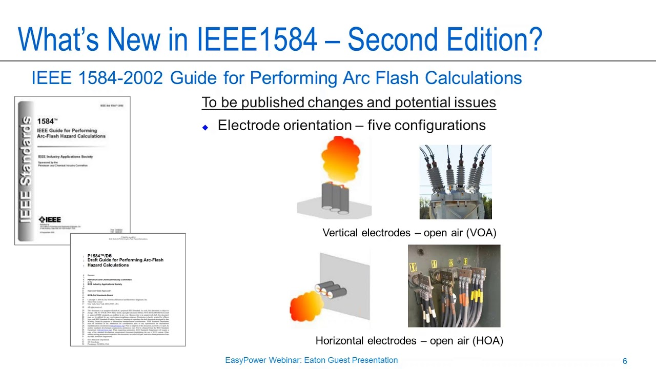whats new in arc flash standards and codes?