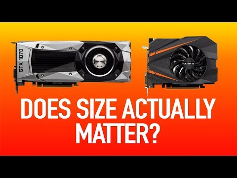 Which is the BEST GRAPHICS CARD for a mini ITX PC? 2017
